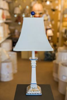 Portuguese Pottery Lamps | Concord Lamp & Shade | Charming Custom ...