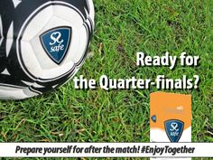 Are you ready for the Quarter-finals of the 2014 World Cup? Prepare yourself for after the match! ‪#‎WorldCup‬ ‪#‎EnjoyTogether‬