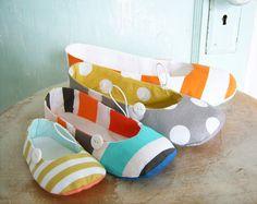 Zapato costura patrón - PDF - Vintage estilo pisos recién nacido tamaños a la medida de las mujeres 11