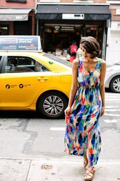 Image Via: A Cup of Jo #Aloisia #Maxi #Dress #Anthropologie