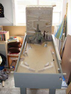 Tutorial - Homemade Indiana Jones Pinball Machine