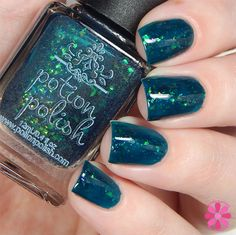 Teal the Leaves Fall available August 21 at potionpolish.com