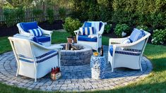 Create Cozy Nooks | Whether it's winter or summer, spring or fall, living on the coast is practically a license to live outdoors. Does your alfresco space stack up? Here are 20 designer-backed secrets to pump up the pretty on your porch, patio, deck, or backyard.