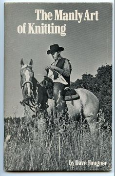 The manly art of knitting by Dave Fougner, http://www.amazon.com/dp/0960057242/ref=cm_sw_r_pi_dp_Grf.pb1NAF3ZJ