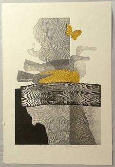 theantidote:  Reika Iwami modern Japanese prints (viaalmaraye:)