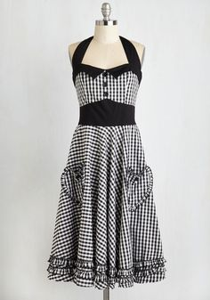 Salty and Pepper Dress, @ModCloth