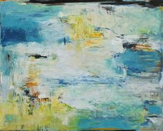 "Original art for sale at UGallery.com | Like Water on Stone by Lisa Manes-James | $4,100 | oil painting | 48"" h x 60"" w 
