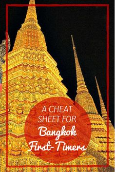 A Cheat Sheet For Bangkok First Timers- Planning a trip to Thailand? Bangkok is a can't miss on a trip to Thailand and Southeast Asia. This guide has the tips and advice you need to plan your Bangkok itinerary and manage this amazing city! Thailand Adventure, Thailand Travel Guide, Visit Thailand, Bangkok Thailand, Thailand Honeymoon, Croatia Travel, Bangkok Guide, Thailand Vacation, Bangkok Itinerary