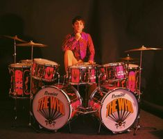 Keith Moon- Pure talent.  Blew up his drum set!  ...And almost blew up Pete Townsend in the process...  >:D