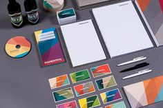 ... pigmentpol identity by feld | studio for digital crafts, via flickr.