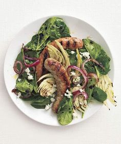 Grilled Sausage and Fennel Salad recipe