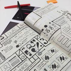 Graphic design inspiration from PRINT's latest Designer of the Week Morgan Prenger. #design #inspiration #graphicdesigninspiration