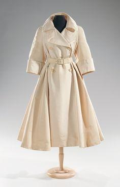 Norman Norell coats ca. 1955 via The Costume Institute of the Metropolitan Museum of Art