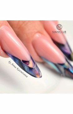 French Nail Art, Beautiful Nail Designs, Nail Bar, Chihuahuas, Perfect Nails, Almond Nails, Pretty Nails, Loki, Manicure