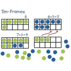 #LearningResources Giant #Magnetic #Ten-Frame Set:  These are awesome!  I do 10 frames with my students each day during calendar time.  I always draw out the picture for the 10 frames.  These will be a huge help!