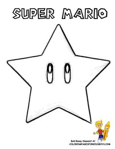 Mario Pictures to Color | 137_Mario_Coloring_sheets_at-Coloring-Pages-Book-For-Kids-Boys.gif
