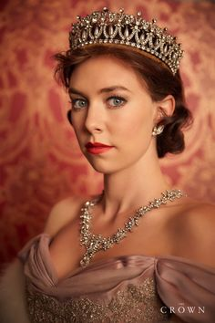 Vanessa Kirby as Princess Margaret from Netflix's wonderful series 'The Crown'
