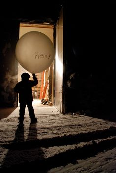 Henry in Antarctica