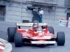 Gilles Villeneuve Monaco 1980