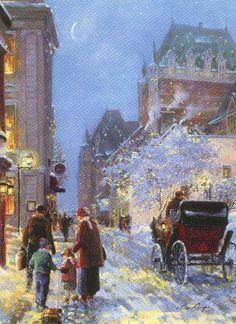 Winter Celebration, by Lise Auger