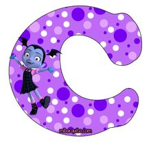 Abecedario de Vampirina Letras para descargar e imprimir gratis | Mi Barquito Happy 6th Birthday, Birthday Parties, Vampire Party, Alphabet Letters Design, Drawing Projects, Disney Diy, Lettering Design, Craft Gifts, Alphabet