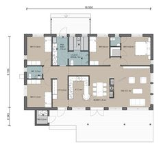 Unelmiesi koti valmiista talomallistostamme tai yksilöllisesti toteutettuna omista suunnitelmistasi. 2 Story Houses, My Dream Home, Future House, House Plans, Floor Plans, Exterior, Flooring, How To Plan, Inspiration