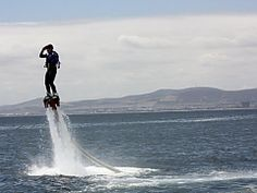 Flyboarding. Johannesburg Adventures | Must do activities | Things to do | Urban Adventures - Dirty Boots