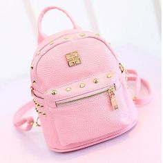 Cute Little Leather Backpack