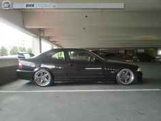 BMW e36 coupe on super rare cult classic 18'' Ronal AC Schnitzer type II racing wheels