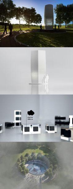 "Il più grande purificatore d'aria ""green"" al mondo: Smog Free Tower  Let's build the world's largest air-purifier!"
