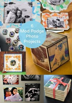 6 Mod Podge Projects to Display Your Photos By CRAFTYAMY   September 13th, 2013 at 4:00 am