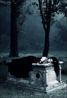 Dark Gothic Art, Gothic Fantasy Art, Gothic Vampire, Vampire Art, Art Zombie, Gothic Images, Beautiful Dark Art, Arte Obscura, Fairytale Fantasies