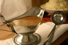 Gordon Ramsay's Gravy with Bacon, Drippings and Hard Cider Recipe