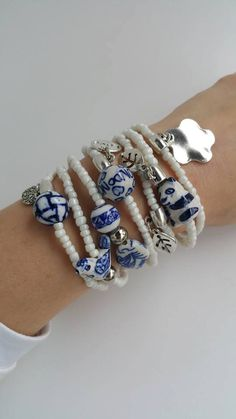 Hey, I found this really awesome Etsy listing at https://www.etsy.com/listing/205302278/blue-and-white-friendship-bracelets-boho