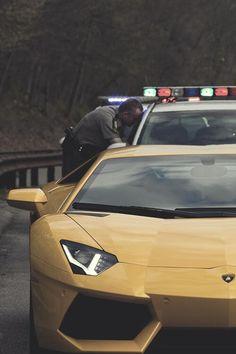 #Lamborghini #Aventador #cops #USA #NY #LA #cars