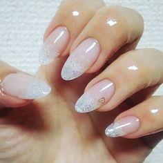 . #ネイルチェンジ #mynails #キラキラがどうしても伝わらない #年越し も #シンプルネイル #nail #sculpture #whiteglitternails #simplenail #selfnail #ネイル #ラメスカルプ #ホワイトラメ #スカルプ #セルフネイル