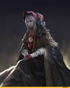 the doll, BB characters, BloodBorne, Dark Souls, fandom, DS art, Z byer
