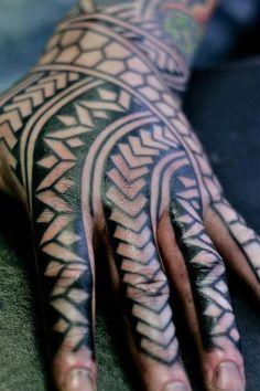 annadoll2001:    Hand tattoo by Curly  via Tattoo Club of Great Britain on FB