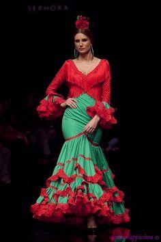 Flamenco dress..