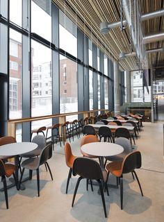 Hamar Public Library, designed by Metropolis arkitektur & design. Design Hotel, Interior Architecture, Public, Furniture, Home Decor, Architecture Interior Design, Decoration Home, Room Decor, Interior Designing