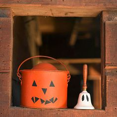 Old-school games like Drop in the Bucket are perfect for your next Halloween party: http://www.bhg.com/halloween/parties/kids-carnival-party-for-halloween/?socsrc=bhgpin090714dropinthebucket&page=11