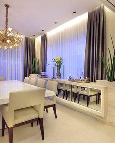 Bom dia com essa inspiração de sala de jantar