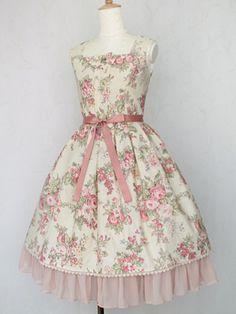 Victorian maiden - Chiffon Frill Dress