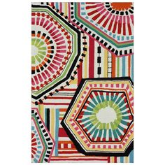 Sheena Multi Hand Tufted Rug available at Layla Grayce