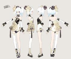 Cute Anime Pics, Anime Girl Cute, Anime Art Girl, Manga Art, Character Concept, Character Art, Concept Art, Cute Art Styles, Cartoon Art Styles