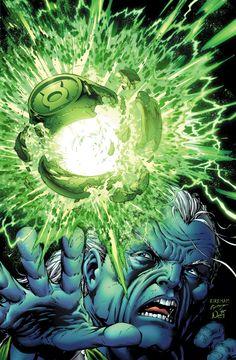 Green Lantern by Tyler Kirkham, colours by Nei Ruffino *...... !!!!