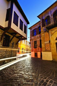 The old town of Xanthi town of Hellas Beautiful Islands, Beautiful Places, Places Around The World, Around The Worlds, Into The West, Macedonia, Vacation Trips, Vacations, Greece Travel