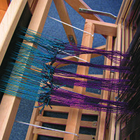 Tying on One Warp to Another - Weaving Today