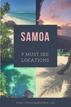 Samoa Vacation: 9 Must See Locations on the Island of Upolu. Find the best places to visit during your Samoa travel trip. Find stunning Samoa beaches, snorkeling, and cultural events in this week long guide. Cool Places To Visit, Places To Travel, Travel Destinations, Vacation Places, Hawaii, Asia Travel, Travel Trip, Travel Guide, Travel Ideas