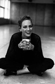 Uma Thurman  by Peter Lindbergh
